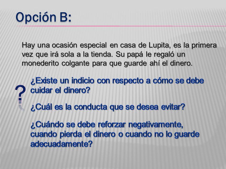 Opción B: