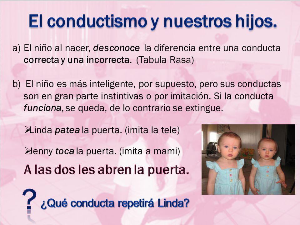 El conductismo y nuestros hijos.