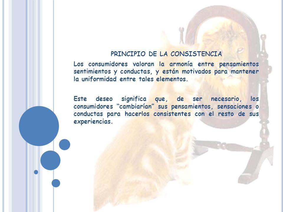 PRINCIPIO DE LA CONSISTENCIA