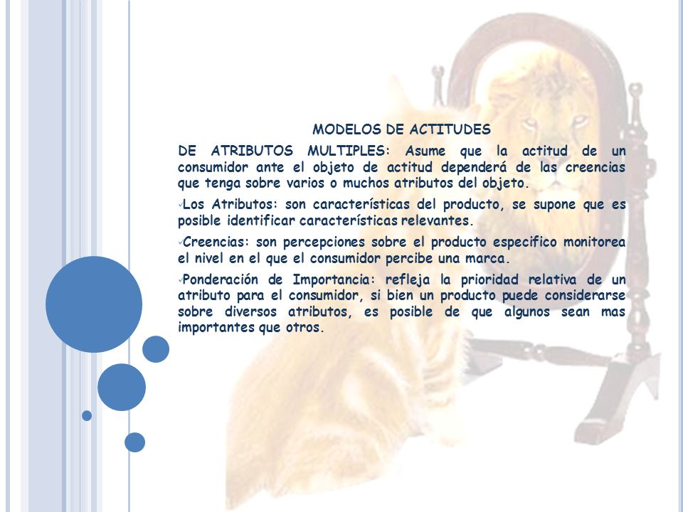 MODELOS DE ACTITUDES