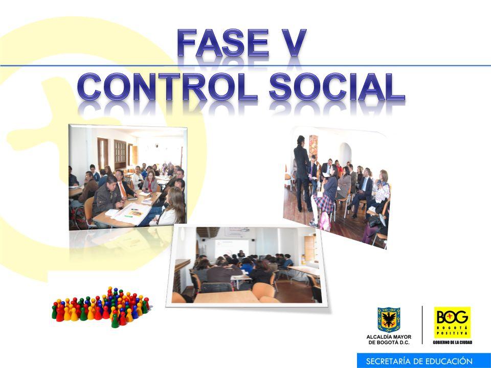 FASE V CONTROL SOCIAL
