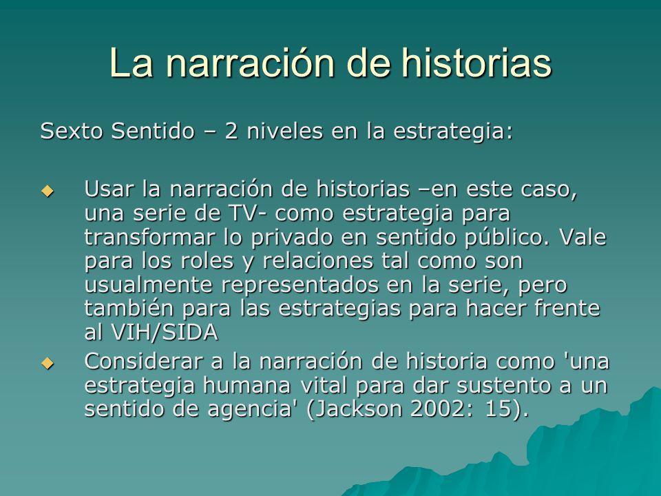 La narración de historias