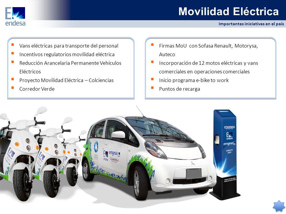 Movilidad Eléctrica Vans eléctricas para transporte del personal