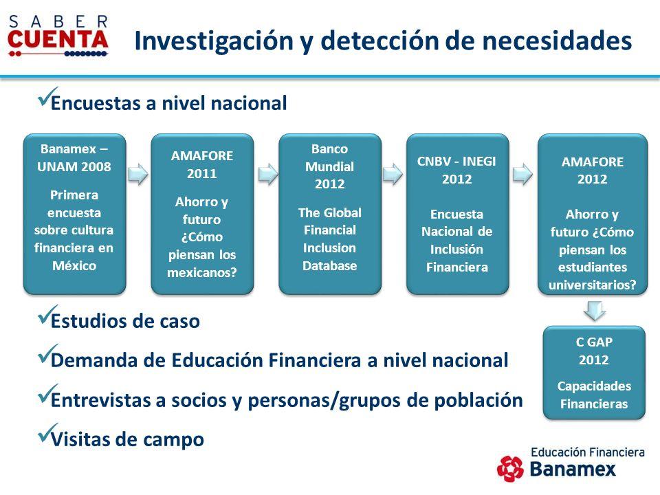 Investigación y detección de necesidades