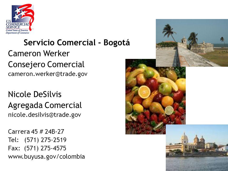 Servicio Comercial - Bogotá