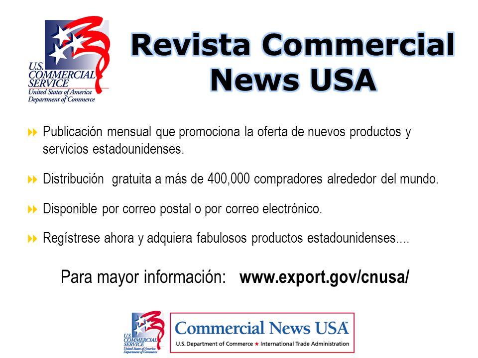Revista Commercial News USA