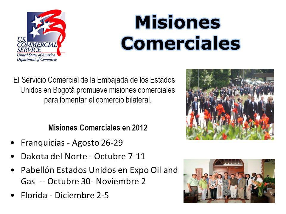 Misiones Comerciales en 2012