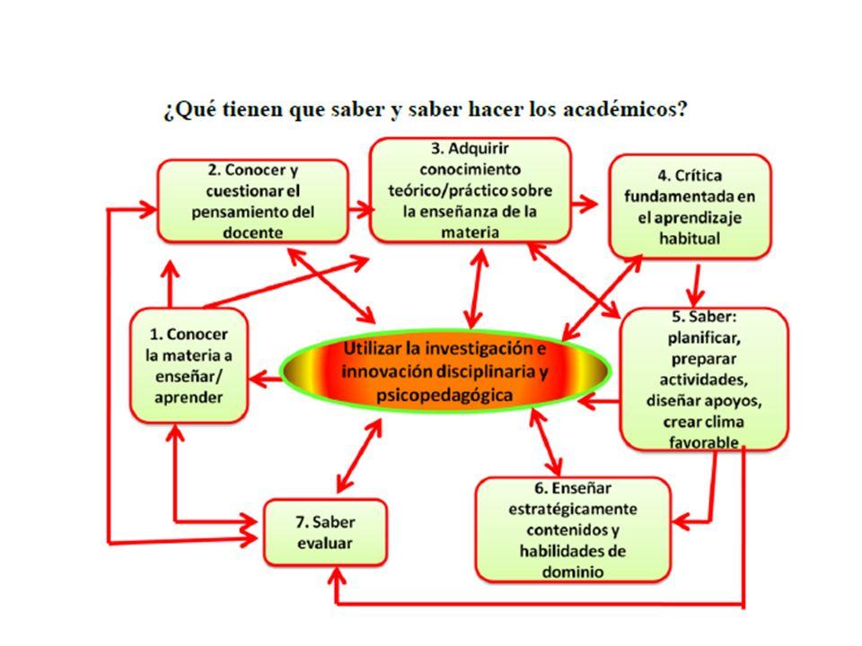 ¿Qué tienen que saber y saber hacer los académicos
