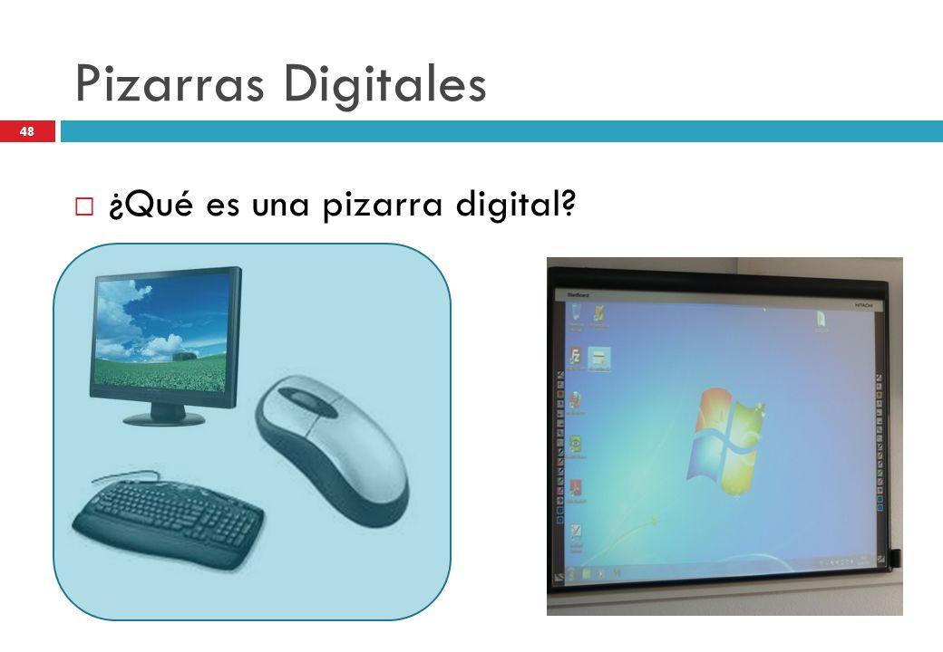 Pizarras Digitales ¿Qué es una pizarra digital