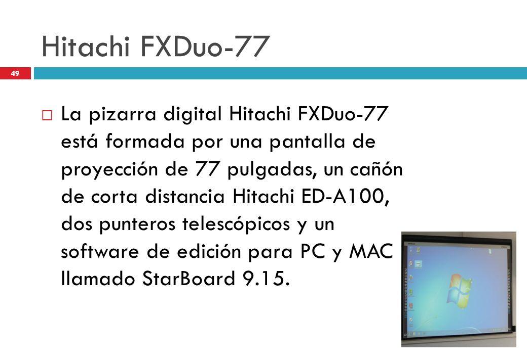 Hitachi FXDuo-77