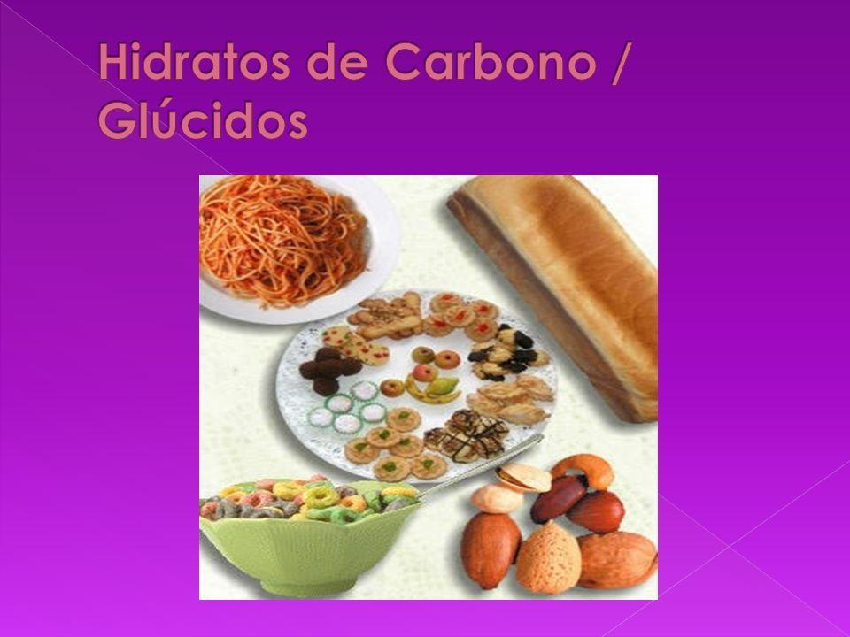 Hidratos de Carbono / Glúcidos