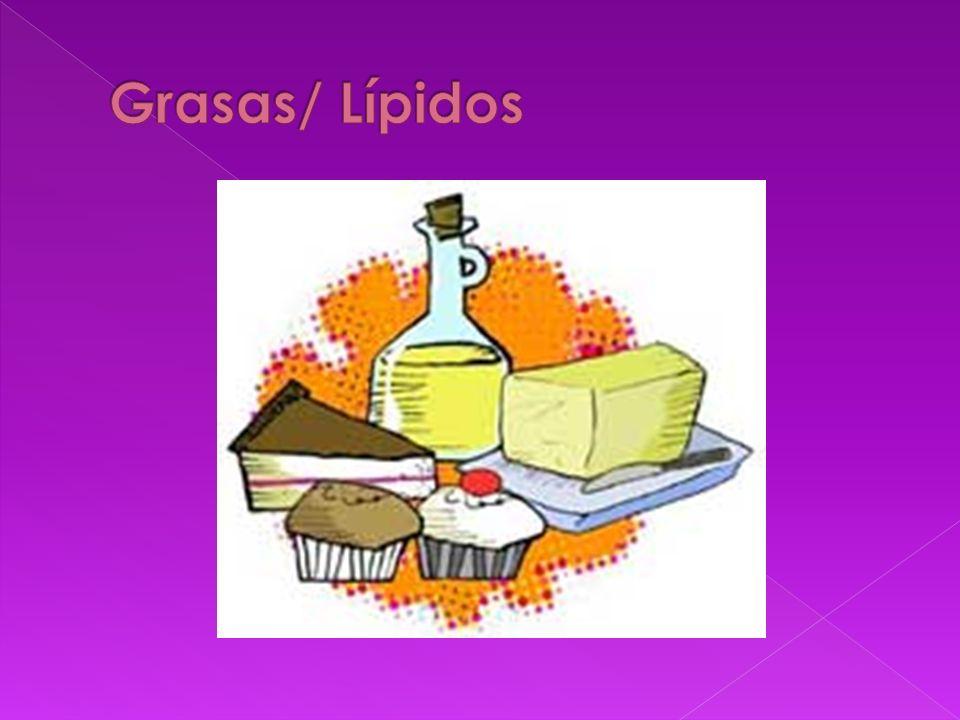 Grasas/ Lípidos