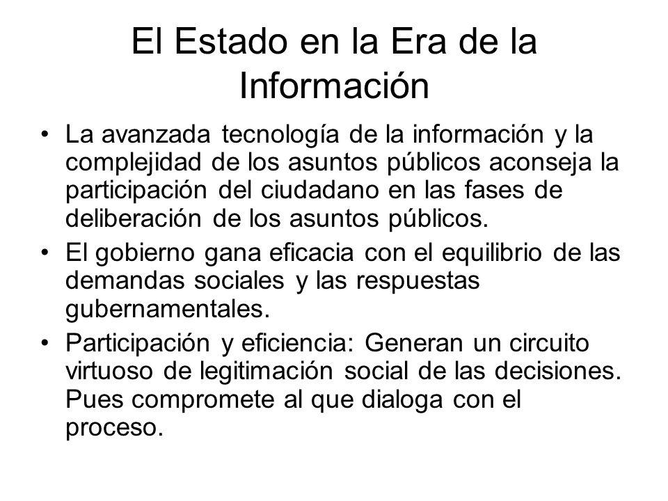 El Estado en la Era de la Información