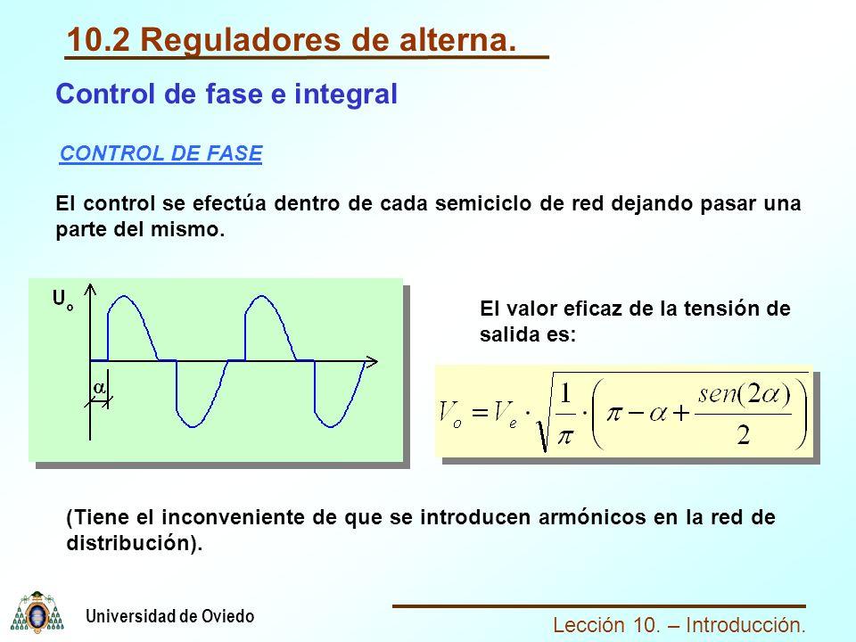 10.2 Reguladores de alterna.