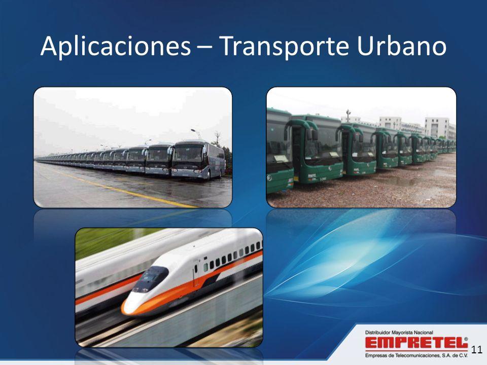Aplicaciones – Transporte Urbano