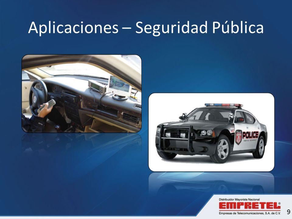 Aplicaciones – Seguridad Pública