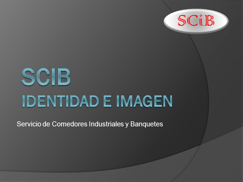 SCiB identidad e imagen
