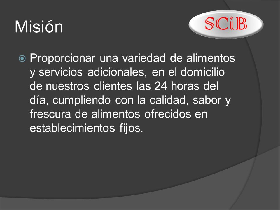 Misión SCiB.