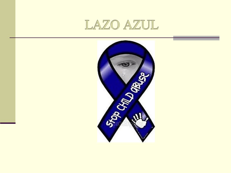 LAZO AZUL