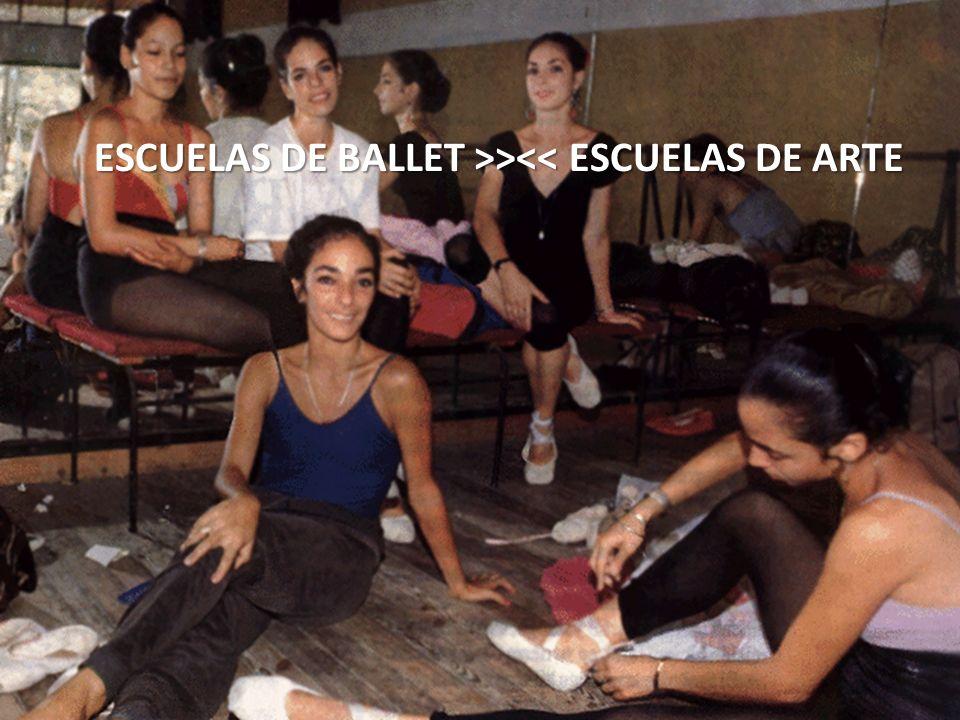 ESCUELAS DE BALLET >><< ESCUELAS DE ARTE