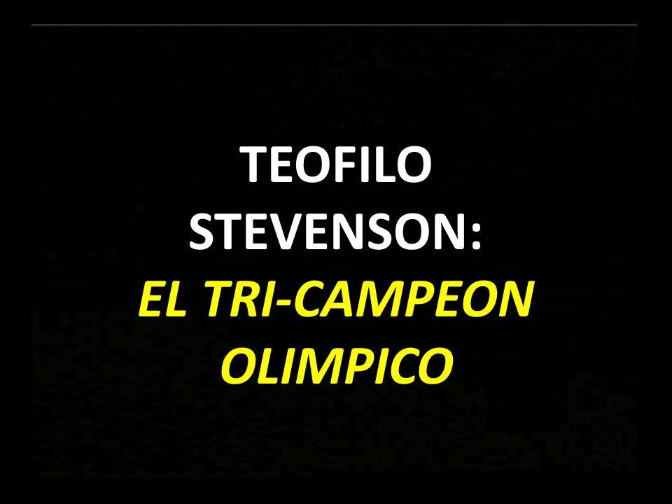 EL TRI-CAMPEON OLIMPICO