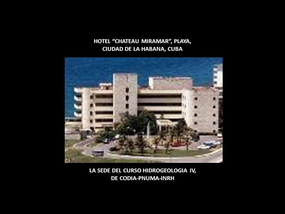 HOTEL CHATEAU MIRAMAR , PLAYA, CIUDAD DE LA HABANA, CUBA