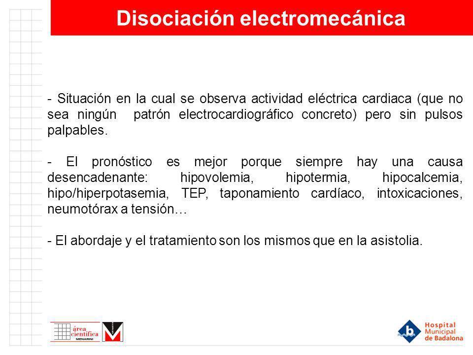 Disociación electromecánica