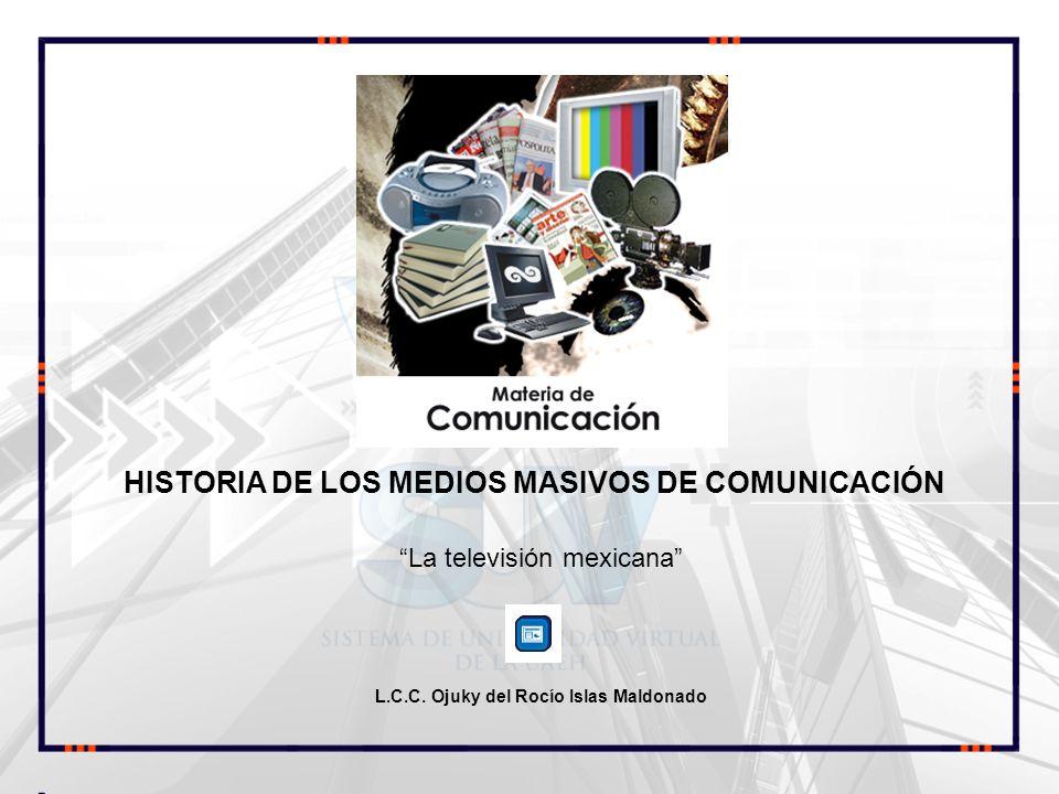 La televisión mexicana L.C.C. Ojuky del Rocío Islas Maldonado