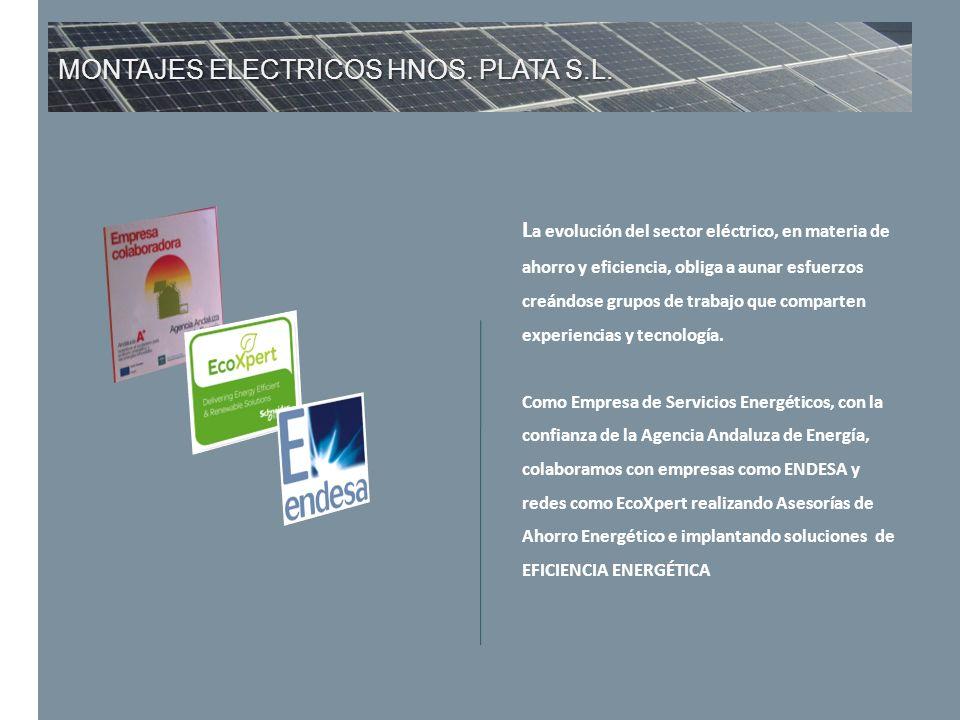 MONTAJES ELECTRICOS HNOS. PLATA S.L.
