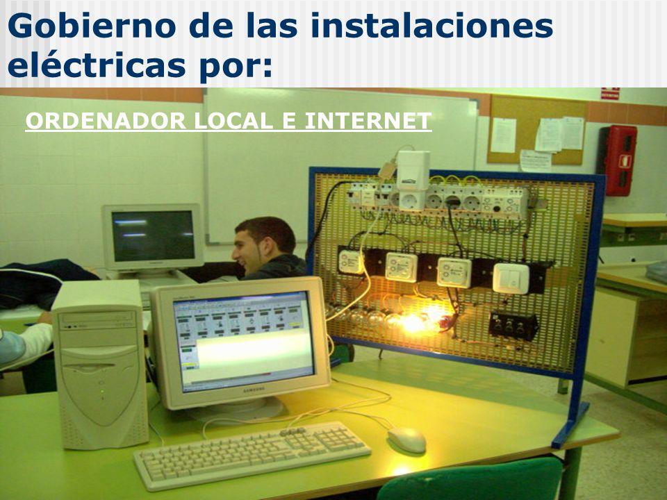 Gobierno de las instalaciones eléctricas por: