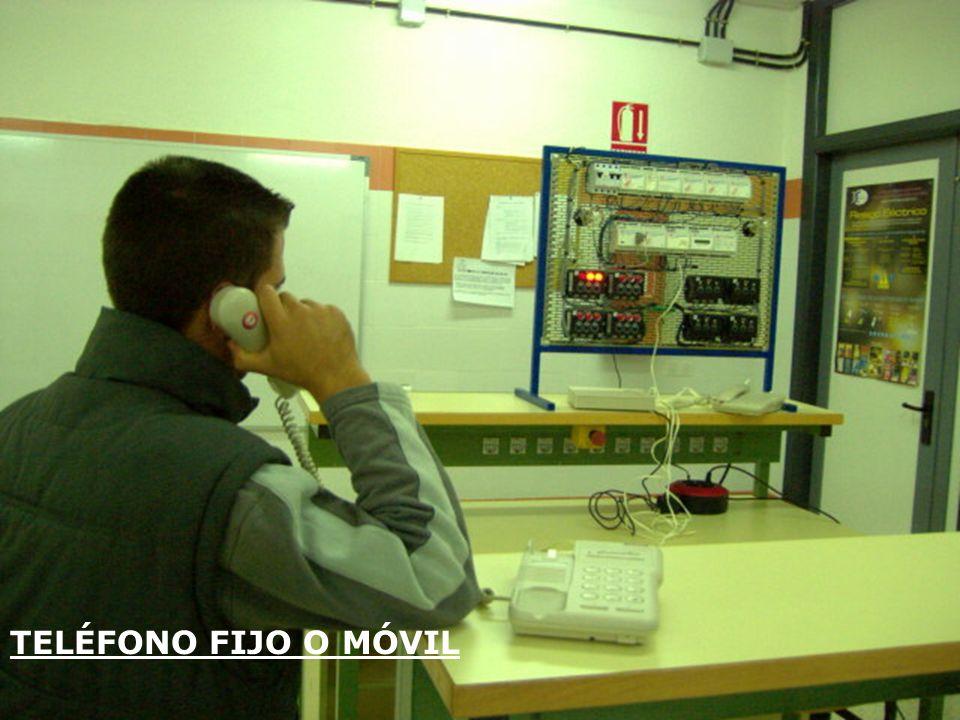 TELÉFONO FIJO O MÓVIL
