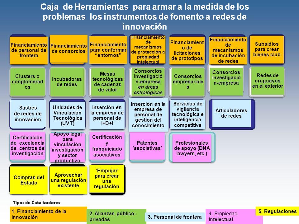 Caja de Herramientas para armar a la medida de los problemas los instrumentos de fomento a redes de innovación