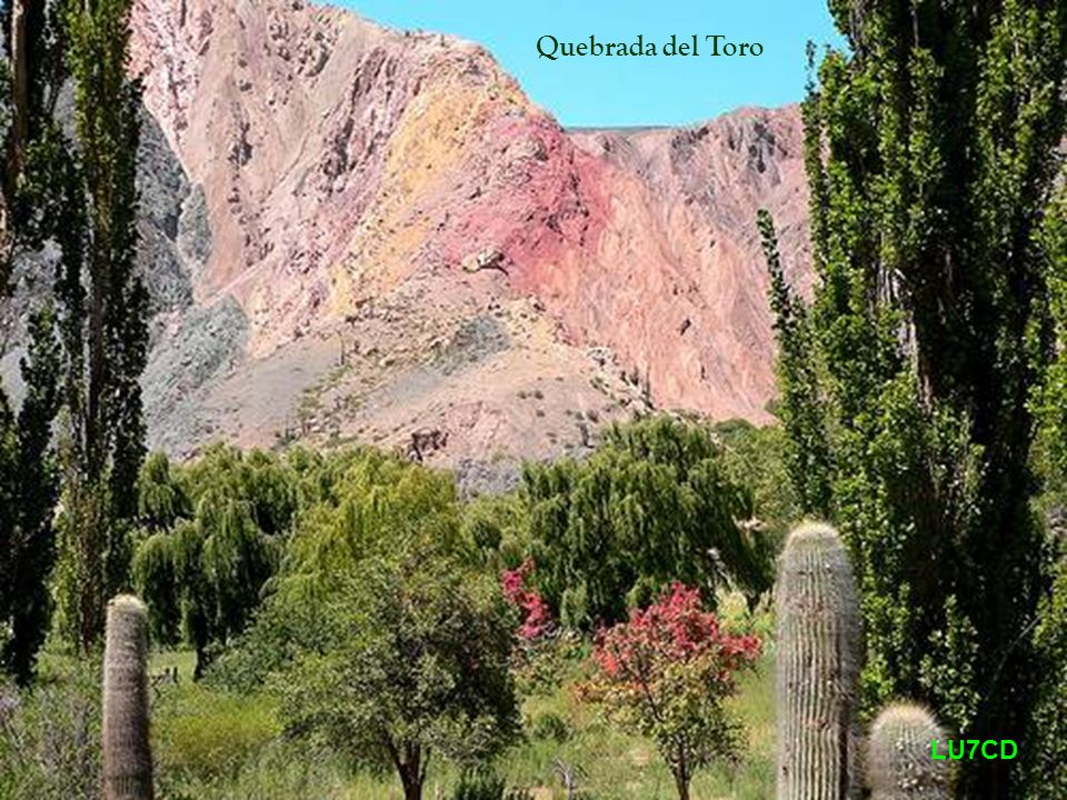 Quebrada del Toro LU7CD