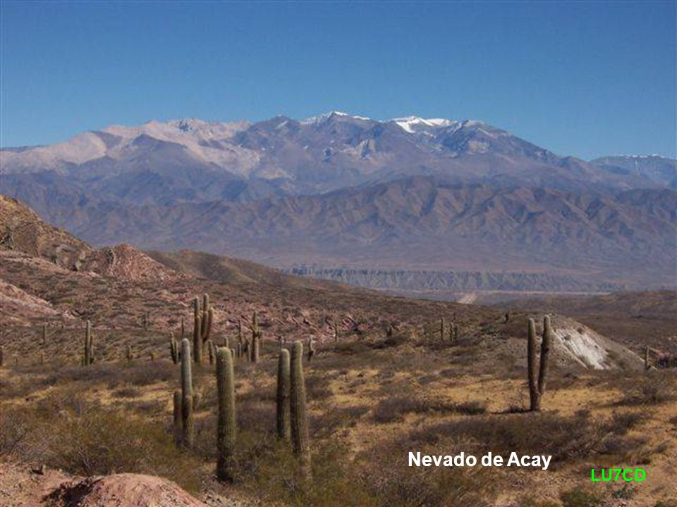 Nevado de Acay LU7CD
