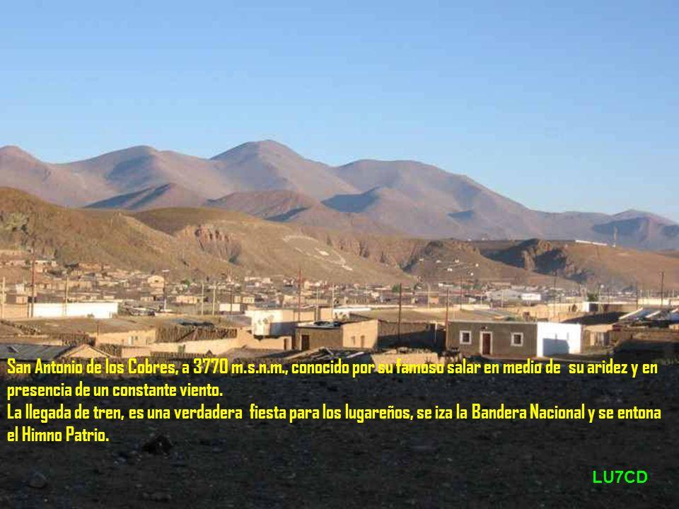 San Antonio de los Cobres, a 3770 m. s. n. m