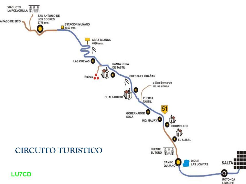 CIRCUITO TURISTICO LU7CD