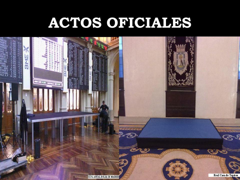 ACTOS OFICIALES