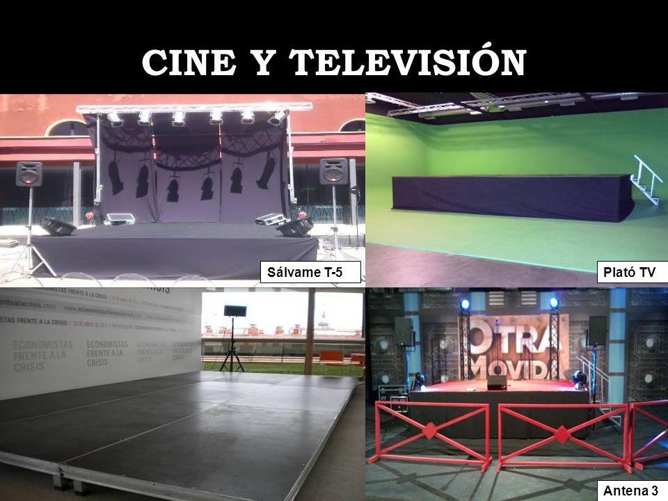 CINE Y TELEVISIÓN Sálvame T-5 Plató TV Antena 3