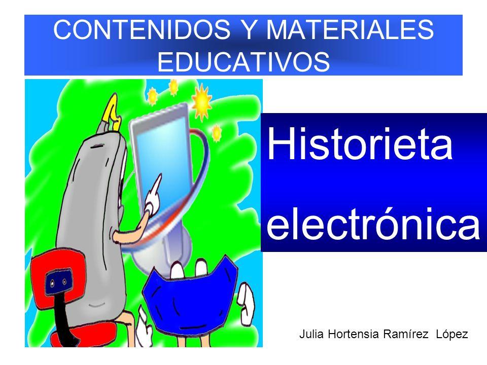 CONTENIDOS Y MATERIALES EDUCATIVOS