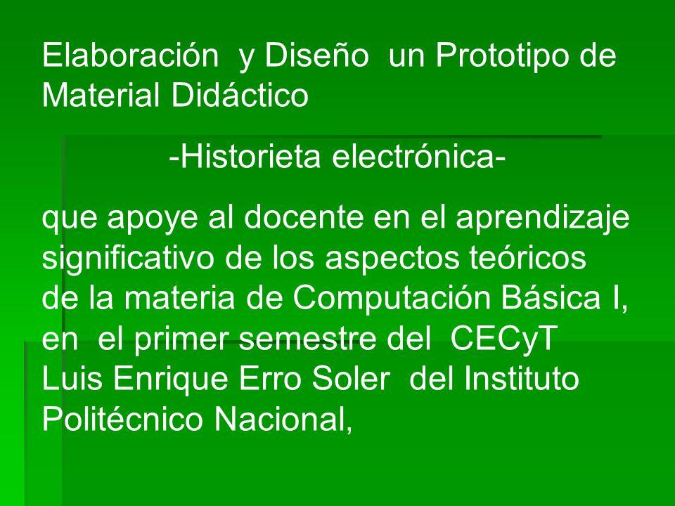 -Historieta electrónica-