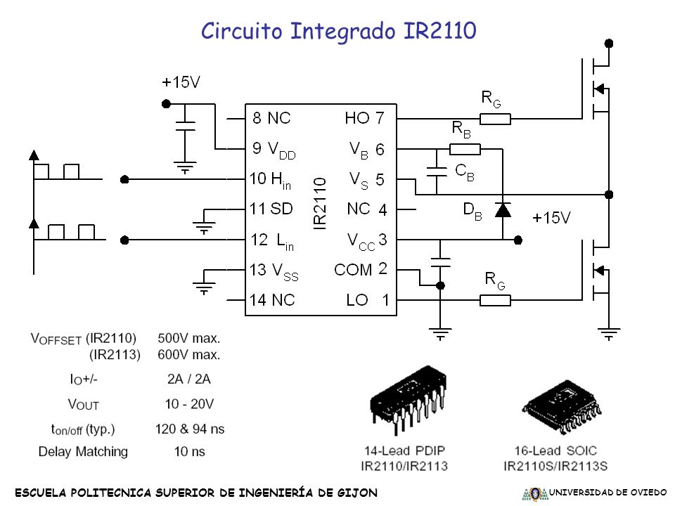 Circuito Integrado IR2110