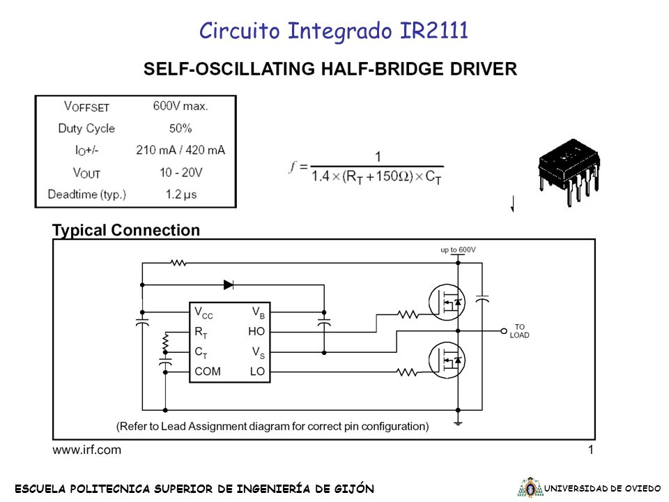 Circuito Integrado IR2111