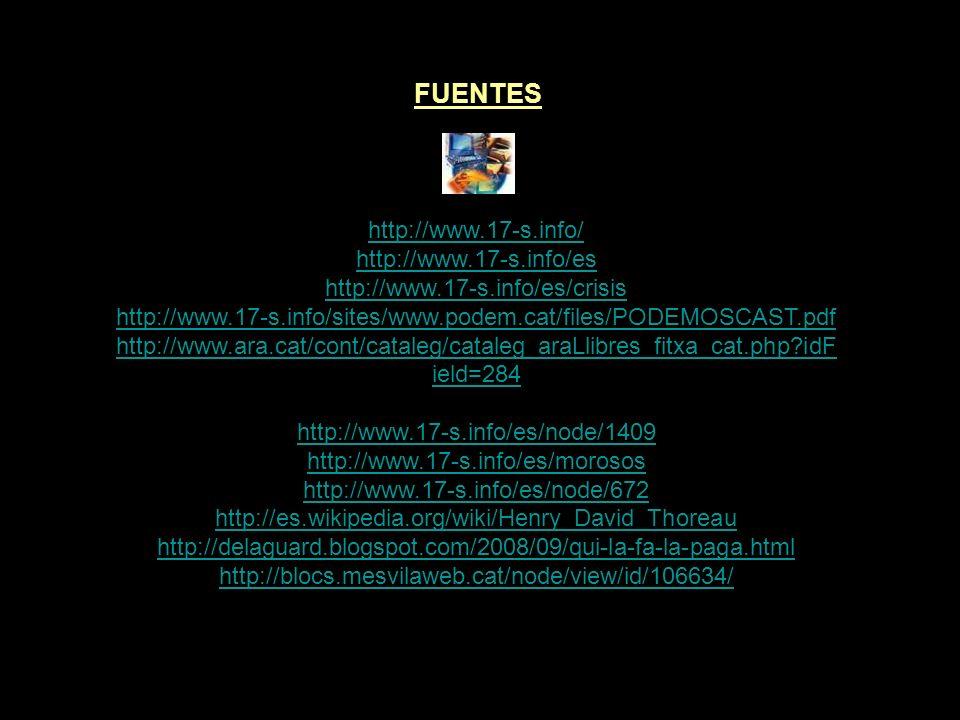 FUENTES http://www.17-s.info/ http://www.17-s.info/es