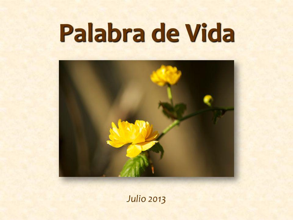 Palabra de Vida Julio 2013