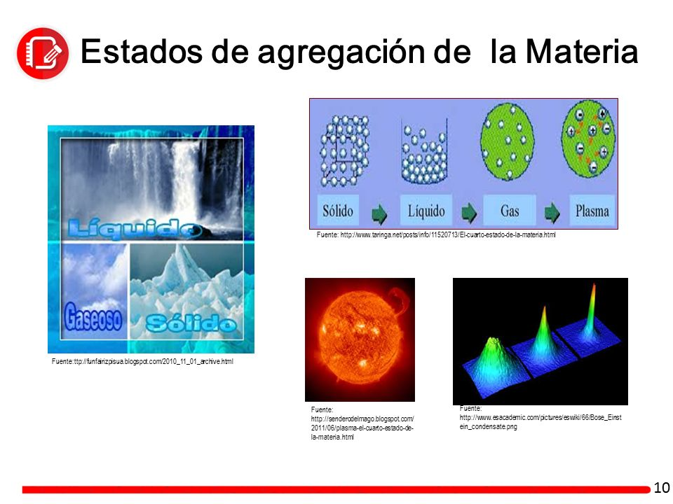 La materia sesi n ppt video online descargar for Cuarto estado de la materia