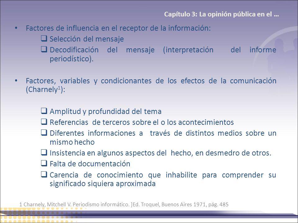Capítulo 3: La opinión pública en el …