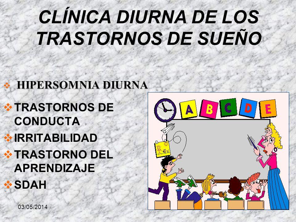 CLÍNICA DIURNA DE LOS TRASTORNOS DE SUEÑO