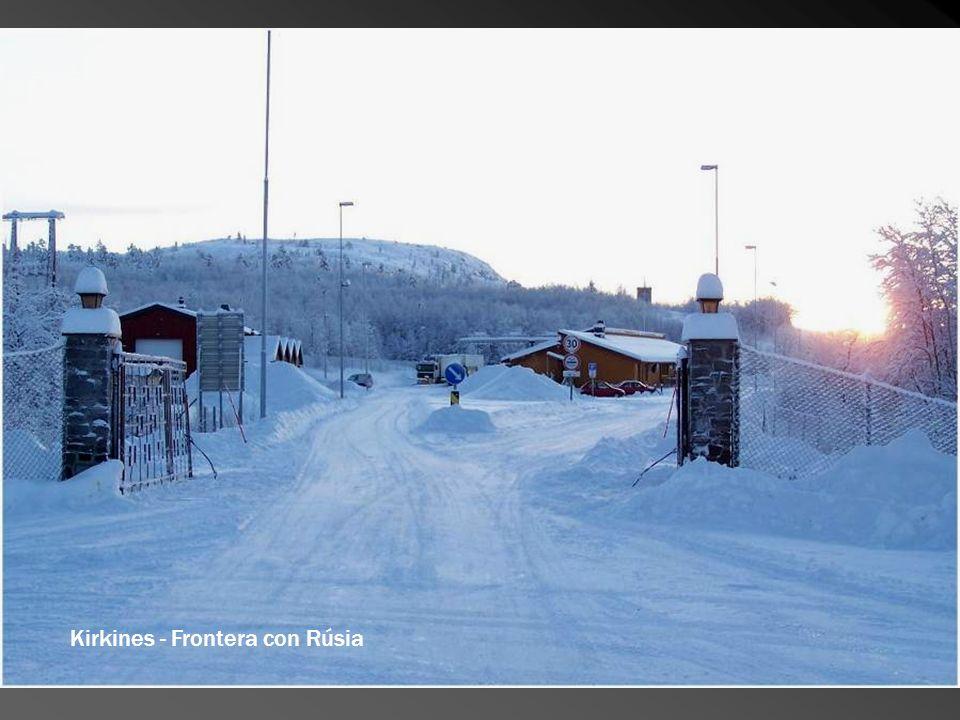 Kirkines - Frontera con Rúsia
