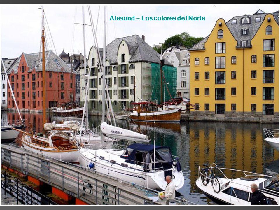 Alesund – Los colores del Norte