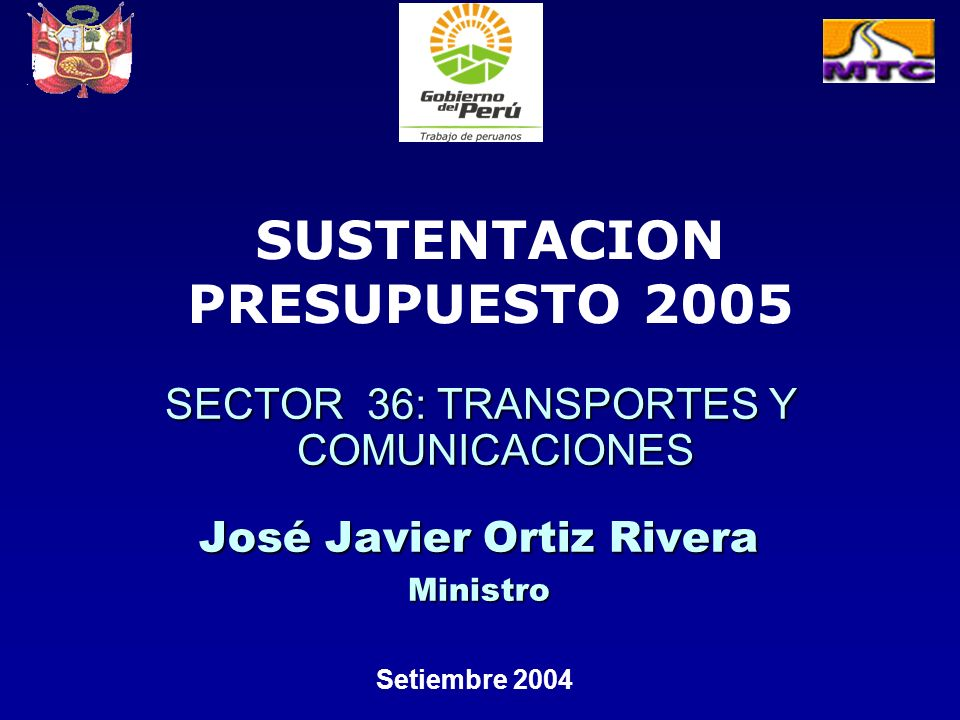 SECTOR 36: TRANSPORTES Y COMUNICACIONES